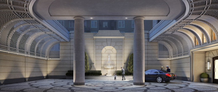 New Manhattan Condos Offer Old-World Motor Courts