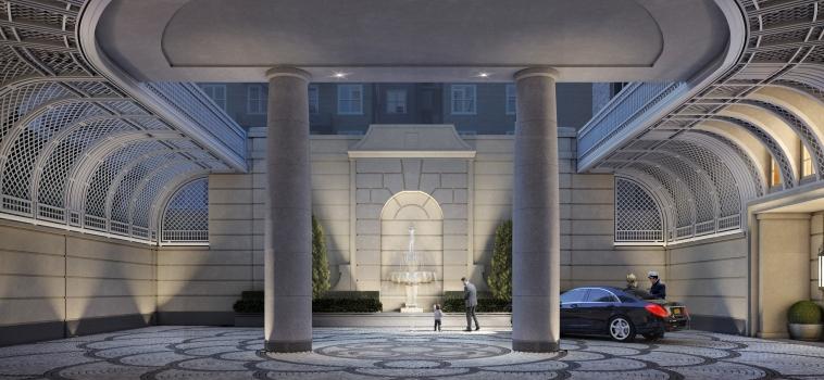 New Manhattan Condos Offer Old-World Motor Courts